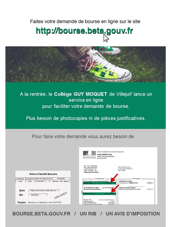 Bourse Eleves En Ligne College Guy Moquet Villejuif